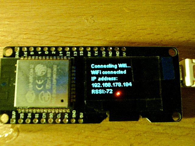 Wemos Lolin ESP32 OLED Module For Arduino ESP32 OLED WiFi + Bluetooth