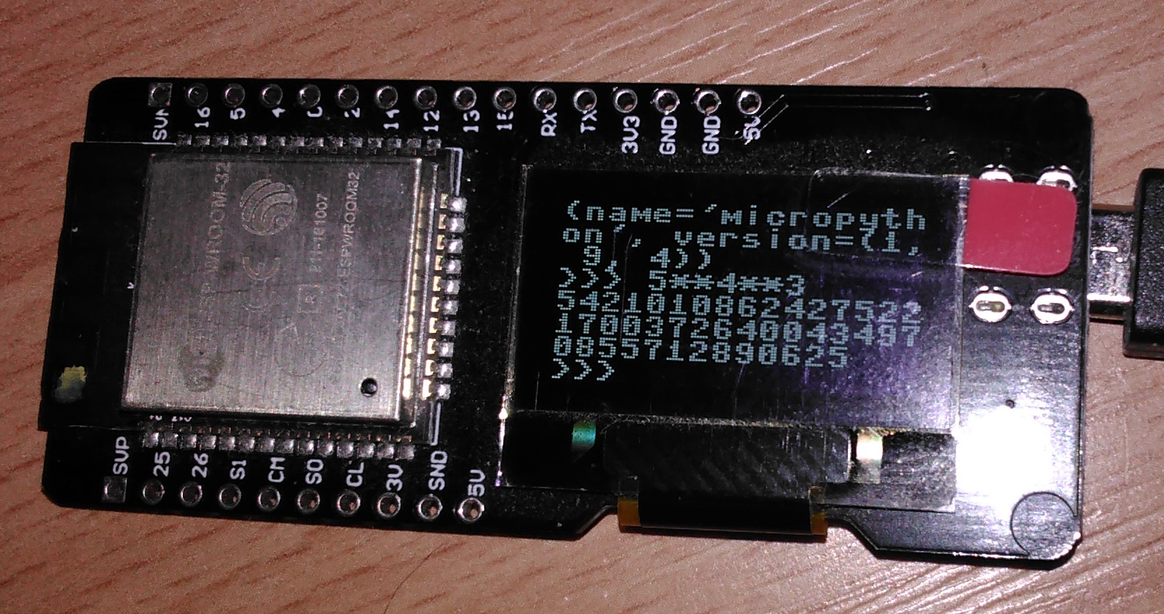 Redirecting terminal/WebRepl to OLED 1306 - MicroPython Forum