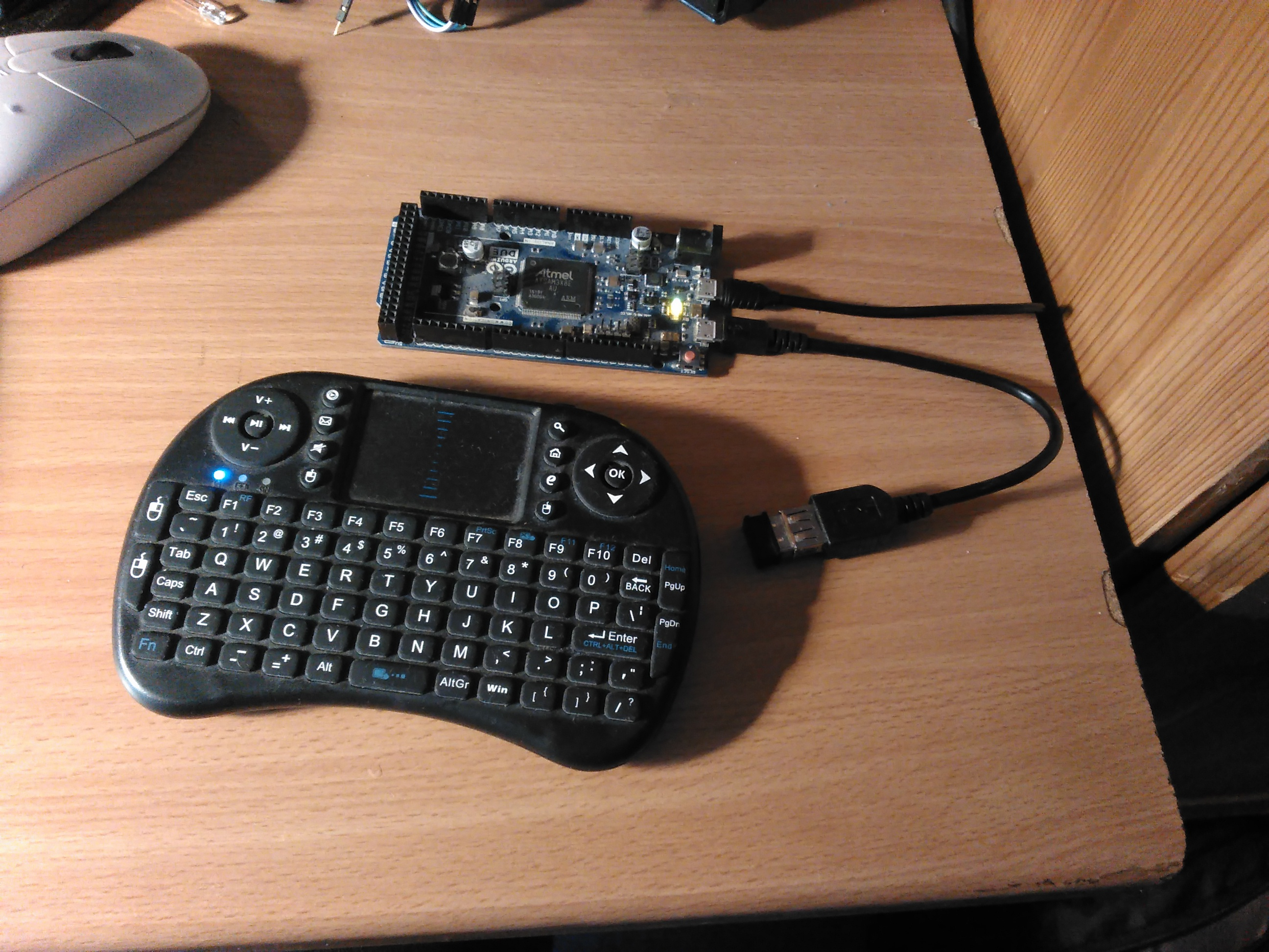 How to connect USB keyboard to ESP32? - ESP32 Forum