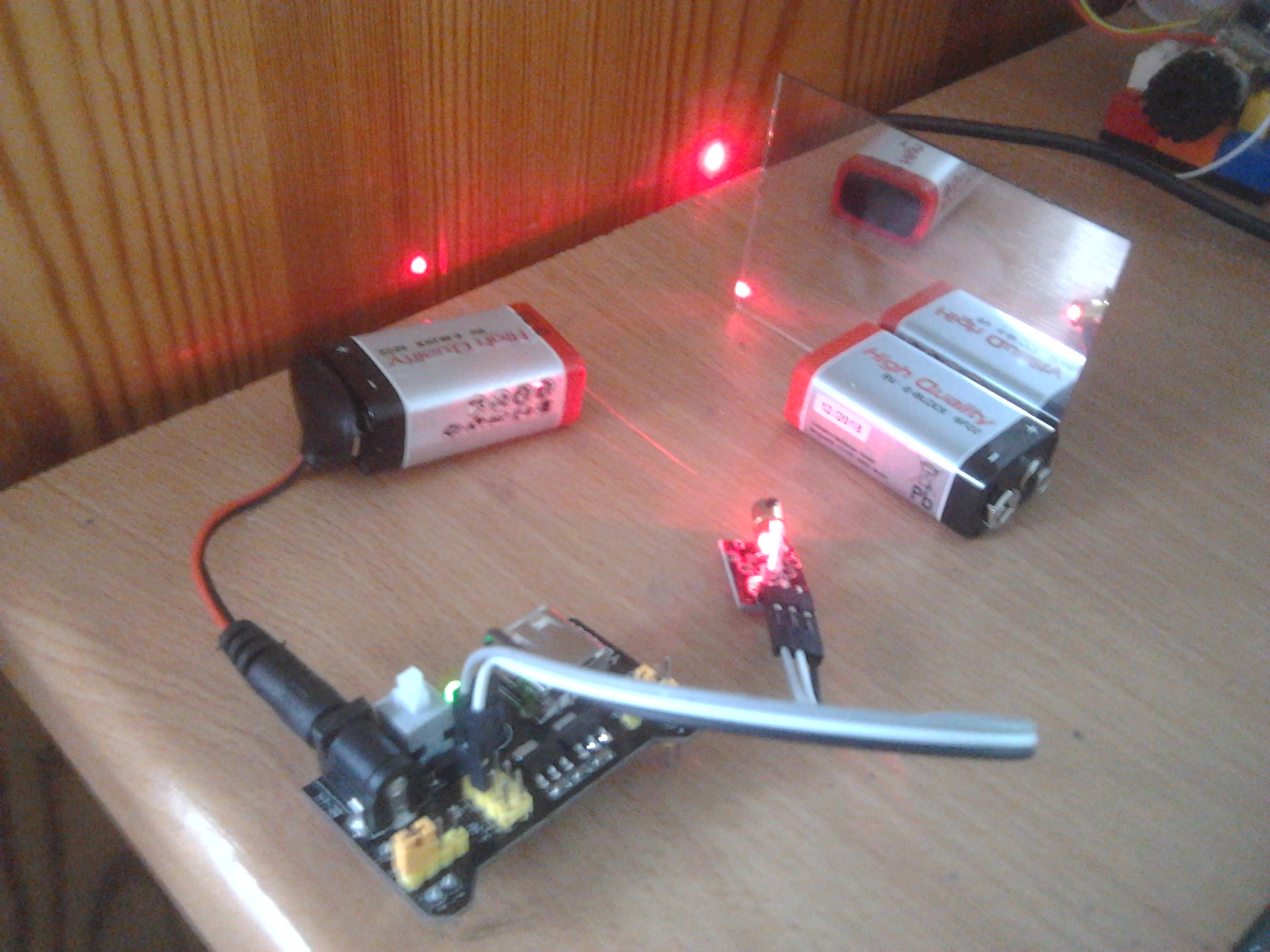Measuring Speed of Light with Arduinos and no moving parts