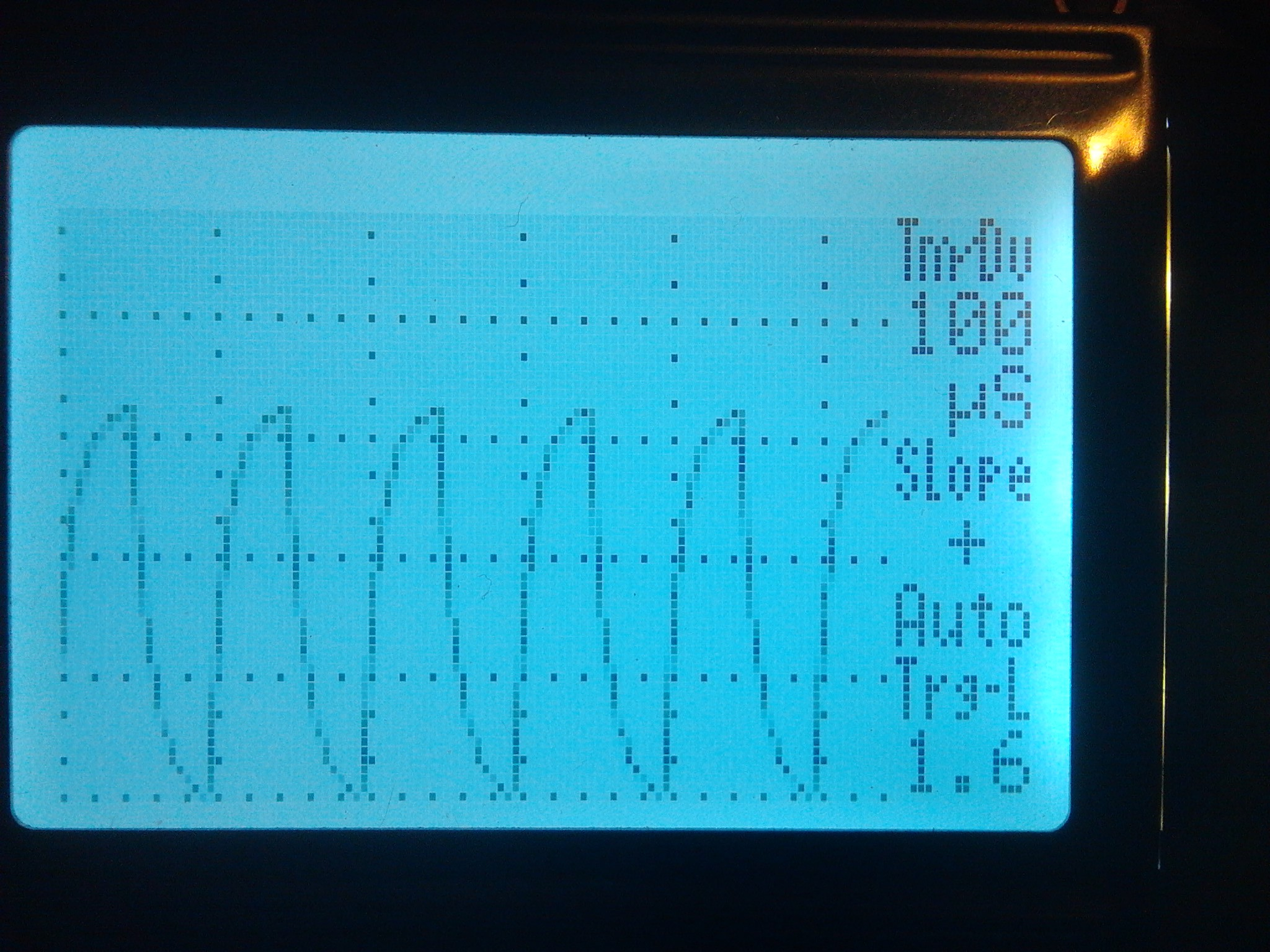Multi Channel High Frequency Pwm With Registers And Phase Shift Wiringpi Set Clock Here Is Photo Of Oscilloscope Verifying The 10khz