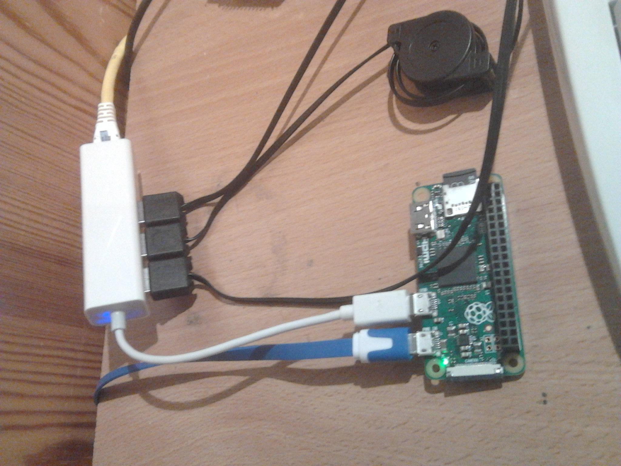 Pi Zero works with 3 USB cameras and ethernet - Raspberry Pi