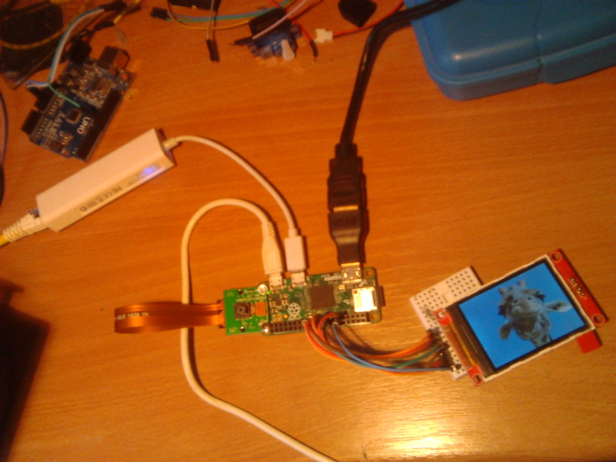 Raspberry Pi Zero and ILI9341 320x230 TFT - Raspberry Pi Forums