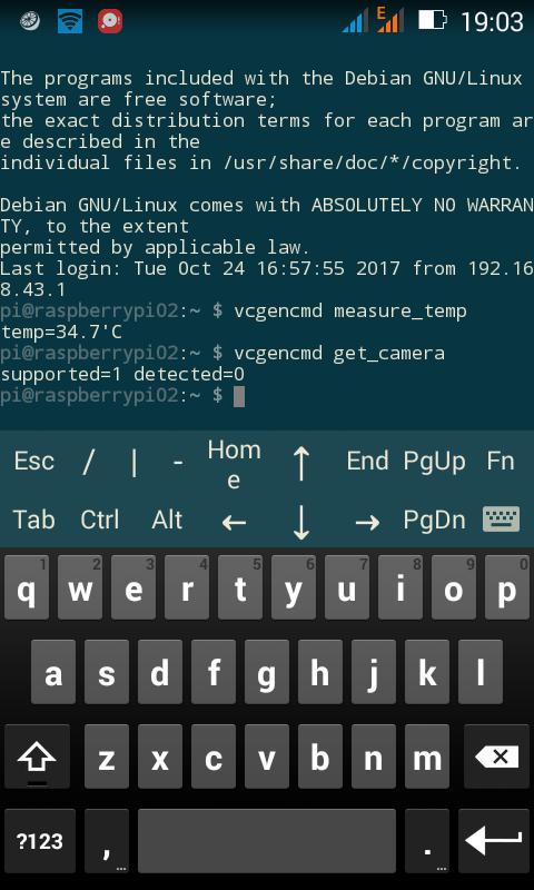 Smartphone as terminal for Pi Zero(!) - Raspberry Pi Forums