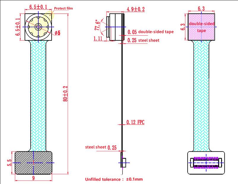 Schematic for camera v2 flex PCB - Raspberry Pi Forums on