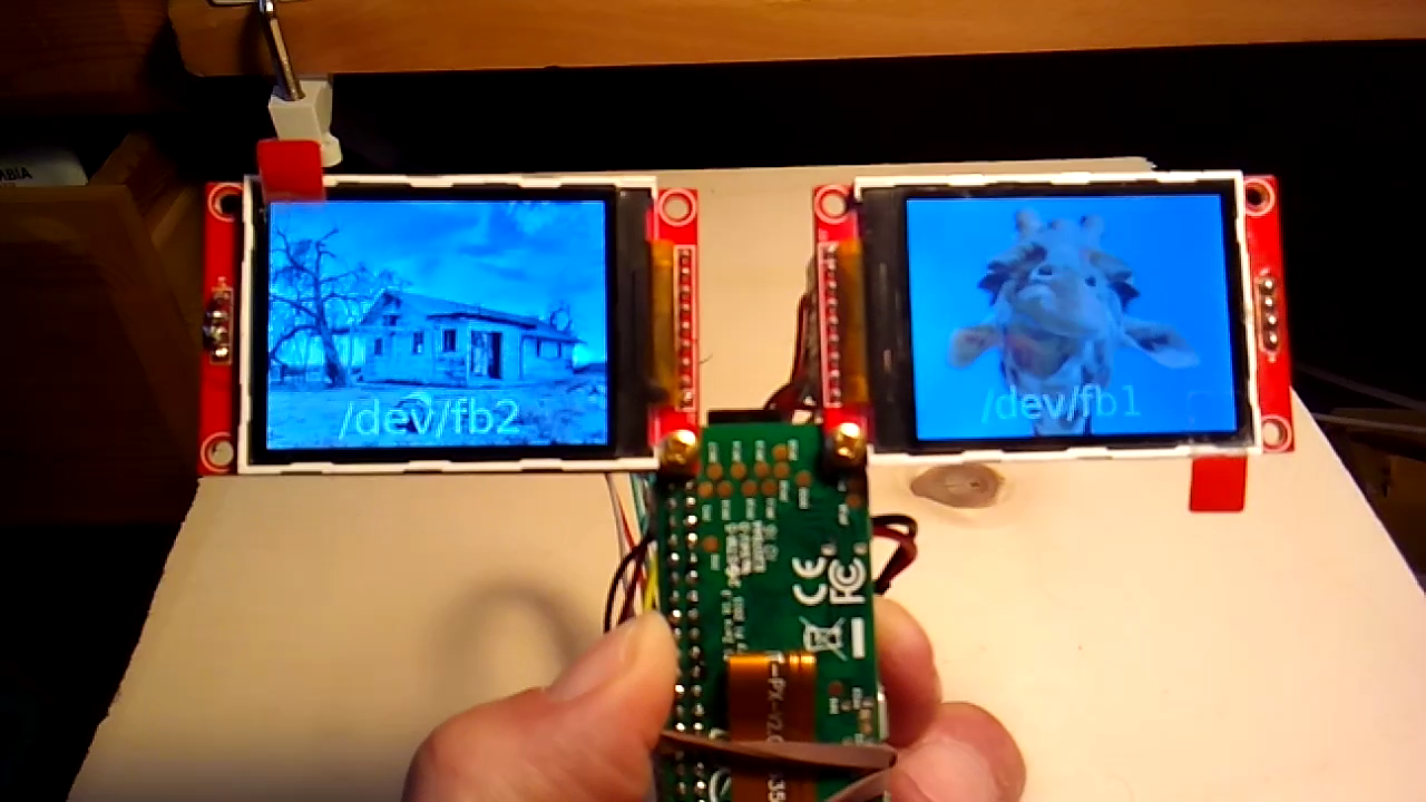 Dual Screens on Raspberry Pi0W - Raspberry Pi Forums